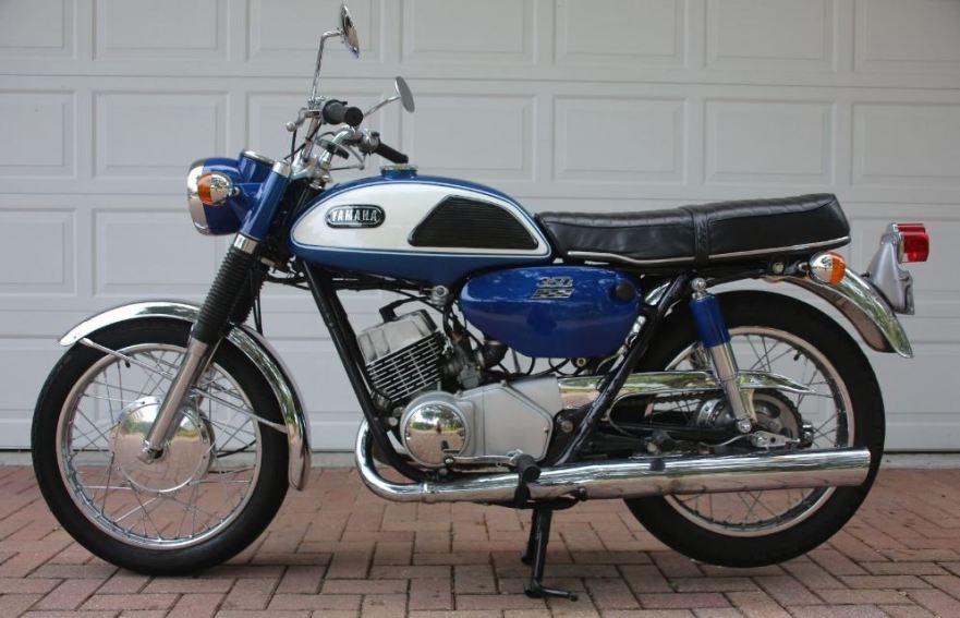 1968 yamaha yr2 grand prix bike urious for Yamaha 350cc motorcycles