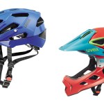 All mountain a enduro cyklistické helmy Uvex