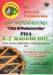 13° raduno città di  Pontasserchio - 7 maggio 2017