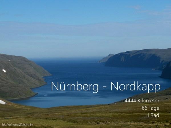 Radreise Nordkap