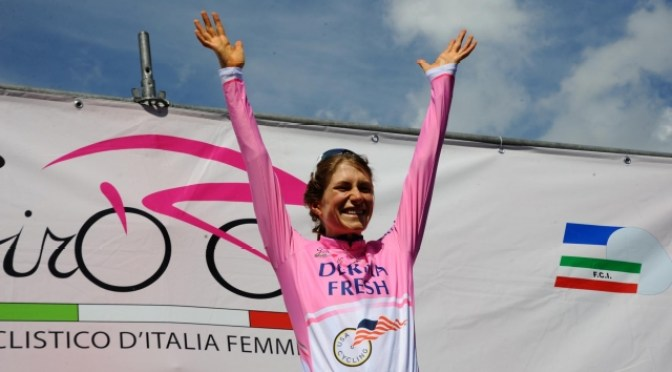 Mara Abbott's last visit to Italy resulted in victory at the Giro Rosa. (photo by Nicola Ianuale)