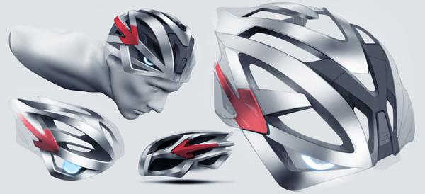 dore bike helmet design