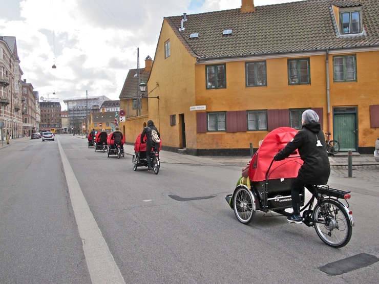 cycling elderly cargo bikes copenhagen