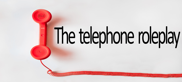 TEFL roleplays: The telephone roleplay esl/efl teaching