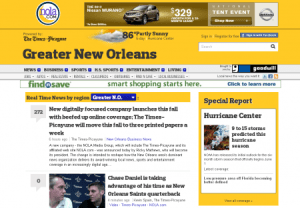 Today's NOLA homepage -- really?