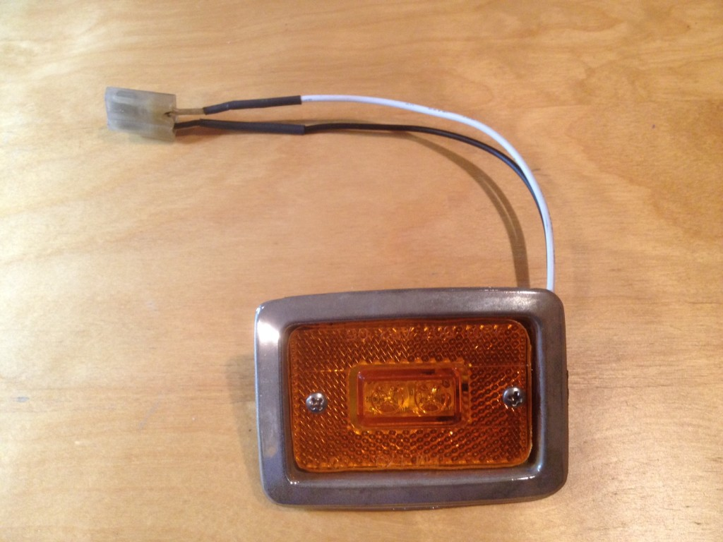 LED light, front
