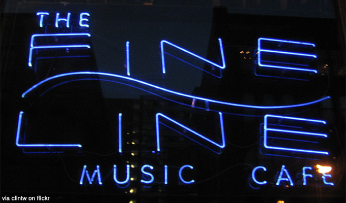 The FIne Line Music Cafe