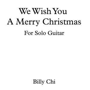 Christmas Arrangements For Solo Guitar