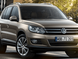 VW tiguan facelift 2011