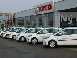 Mariagerfjord har bestilt 41 Toyota Yaris Hybrid