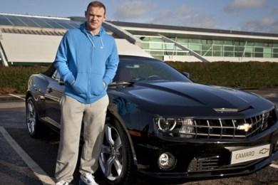 Wayne Rooney valgte en Chevrolet Camaro