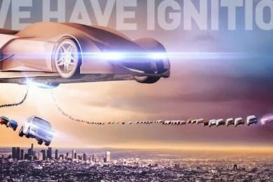 Den officielle LA Auto Show-plakat