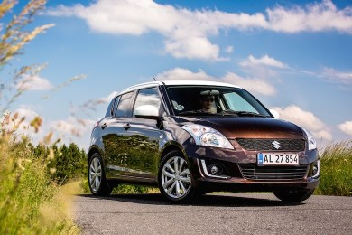 Faceliftet Suzuki Swift