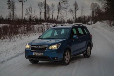 Faceliftet Subaru Forester diesel