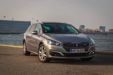 peugeot 508 facelift test