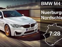 BMW M4 GTS Nürburgring tid