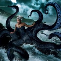 Queen Latifah is Ursula from the Little Mermaid