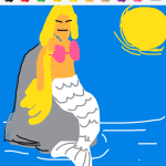 Draw Something - Mermaid