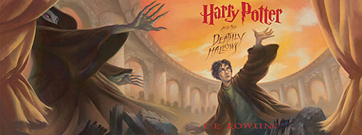 Harry Potter: Deathly Hallows Cover Art