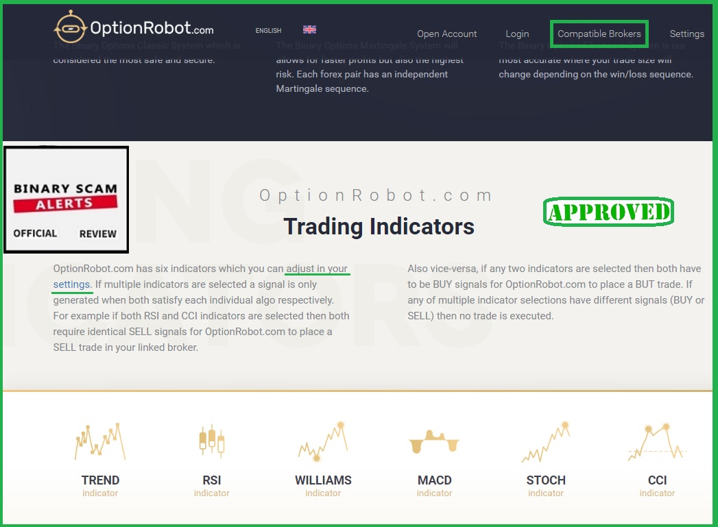 binary options hack review brokers
