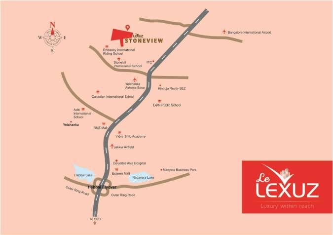 Lexuz location-map
