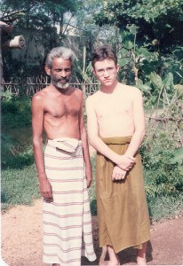 with Goviya Mudiyanse Tennekoone, Sri Lanka 1991