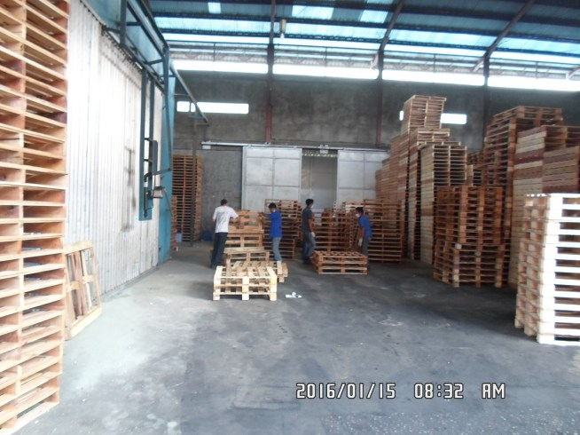 PT. BTS - Wooden Pallet