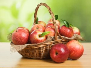 Jonagold Apples in a Basket