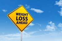 Signpost of weight loss