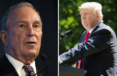Michael Bloomberg VS Donald Trump
