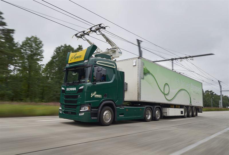 BioEcoGeo_Scania_Autostrada elettrificata