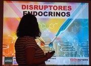 Momento de la charla sobre disruptores endocrinos