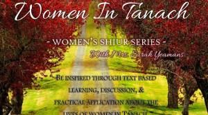 womens shiurim
