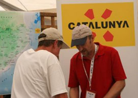 Birding In Spain at the British Birdwatching Fair