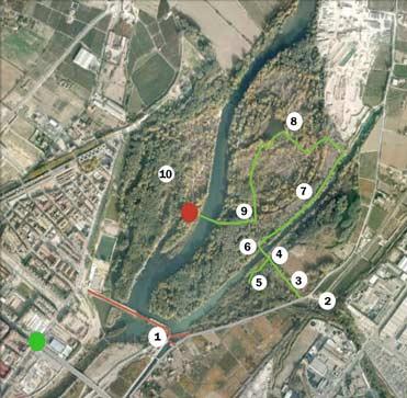 Mapa de la Mitjana Lleida