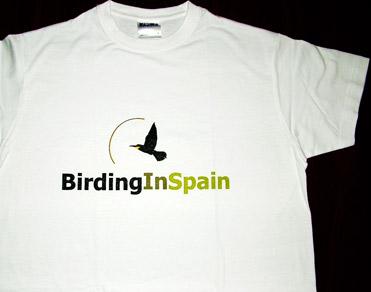 BirdingInSpain.com t-shirt