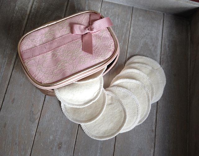 Cotons démaquillants lavables