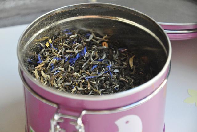 Thé blanc à la peche Lov Organic
