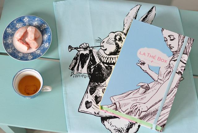 La thé box de mars 2016 - thème Alice