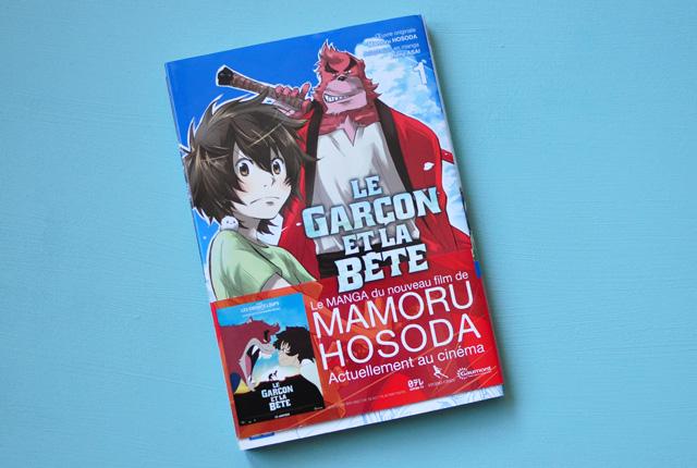 Manga: Le Garçon et la Bête de Mamoru Hosoda