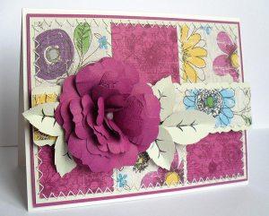 flowers 6 card