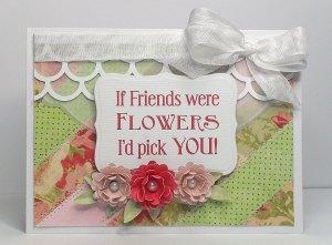were flowers card 1