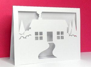 house scene card