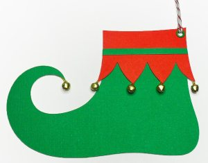 elf shoe tag