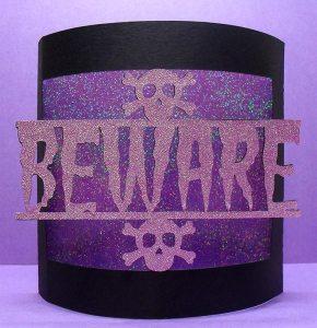 beware bendy card