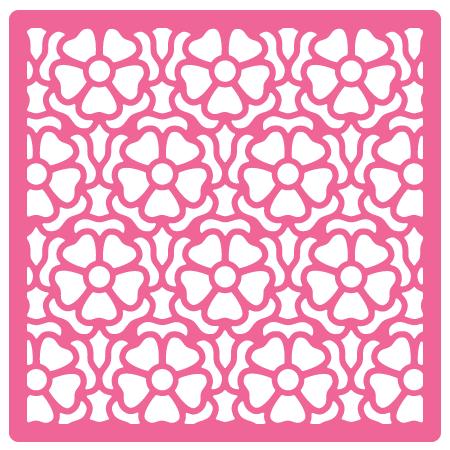 Large-Flower-Stencil-Background