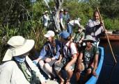 A boat ride through Zapata Swamp. (Photo by Erika Gates)