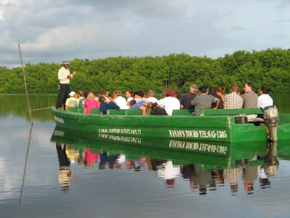 The Caroni Swamp ecotour is very popular for residents and tourists alike. (Photo by Lisa Sorenson)