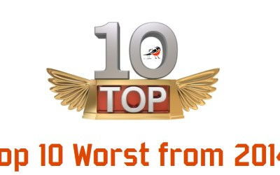 Orioles 10 Worst from 2014