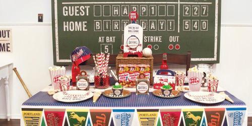 Baseball Birthday Party Ideas